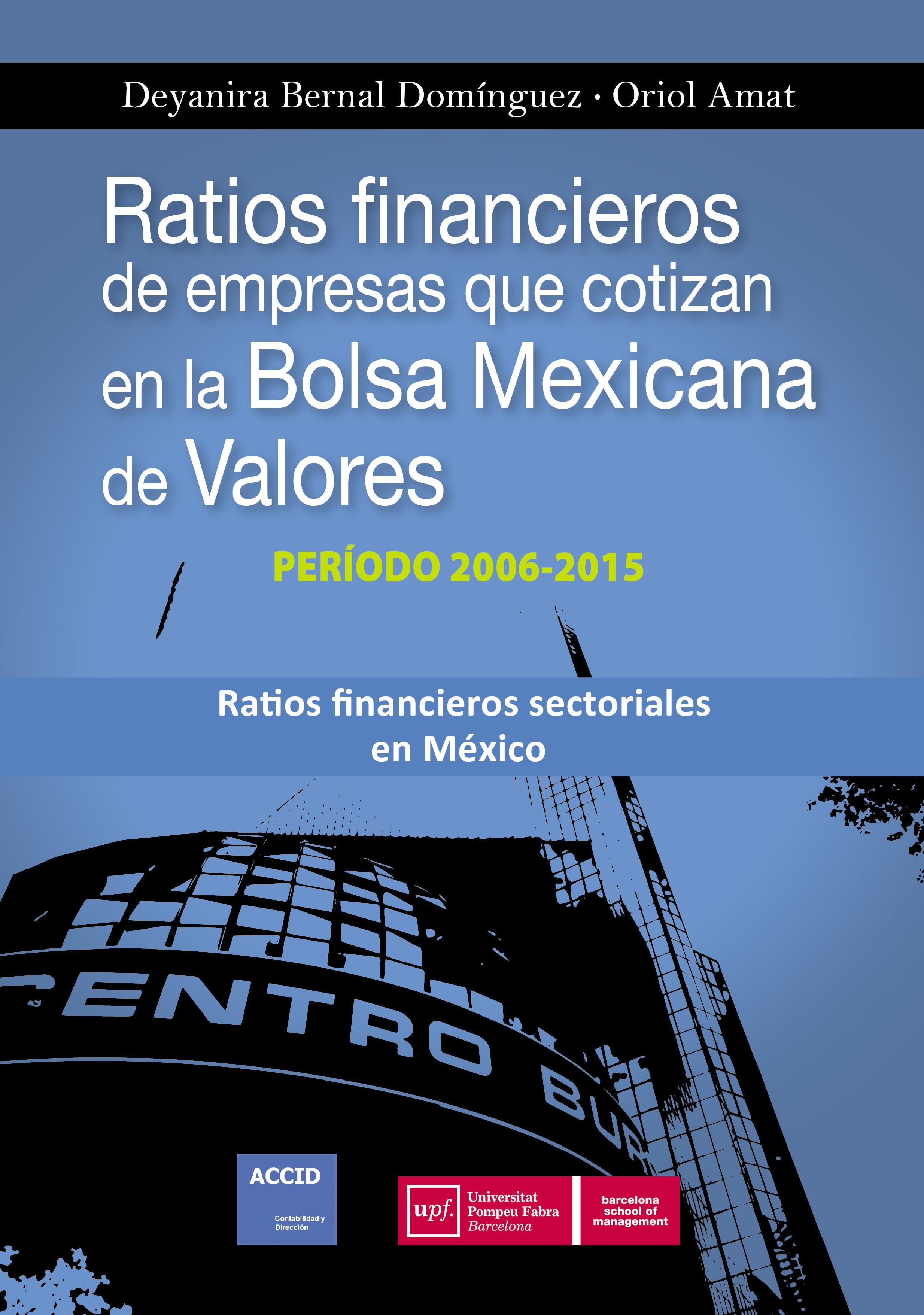 Financieros 2015 En Cotizan De Mexicana Ratios Bolsa Empresas La Valores2006 Que USpzqVLMG