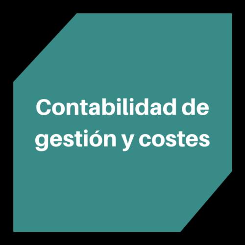 Contabilidad de gestión y costes