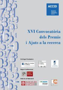 Oberta la XVI edició dels Premis i Ajuts a la recerca ACCID
